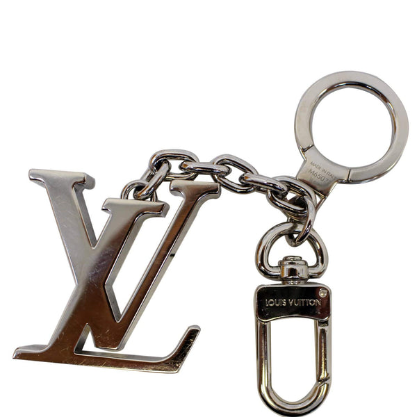 LOUIS VUITTON LV Initiales Key Holder Bag Charm Silver-US