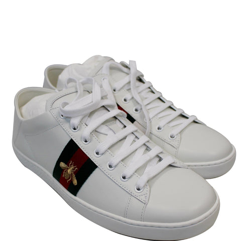 GUCCI Ace Classic Low Top Sneakers White 475208 US 11 - 15% OFF
