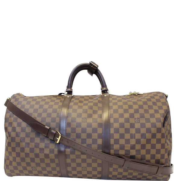 Louis Vuitton Keepall - Lv Damier Ebene Travel Bag