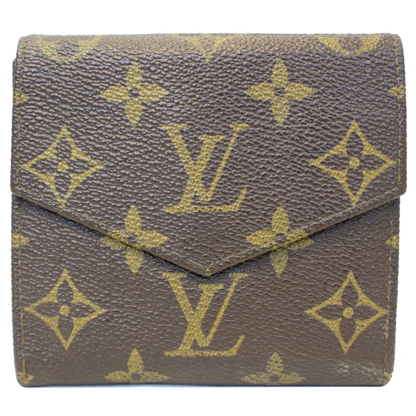 Louis Vuitton Wallet Monogram Canvas Vintage Flap for women