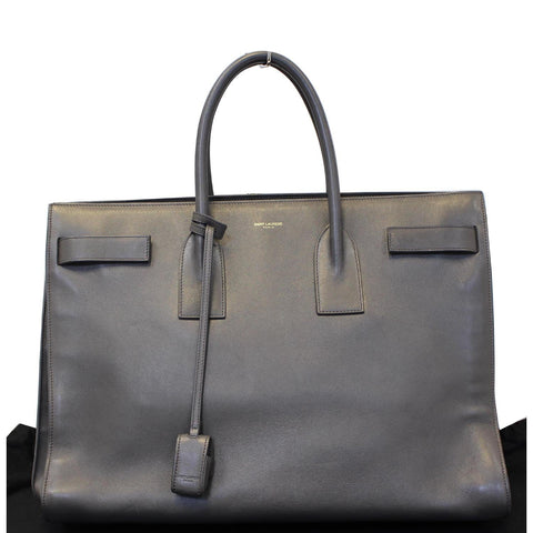 YVES SAINT LAURENT Sac de Jour Medium Calfskin Leather Satchel Bag