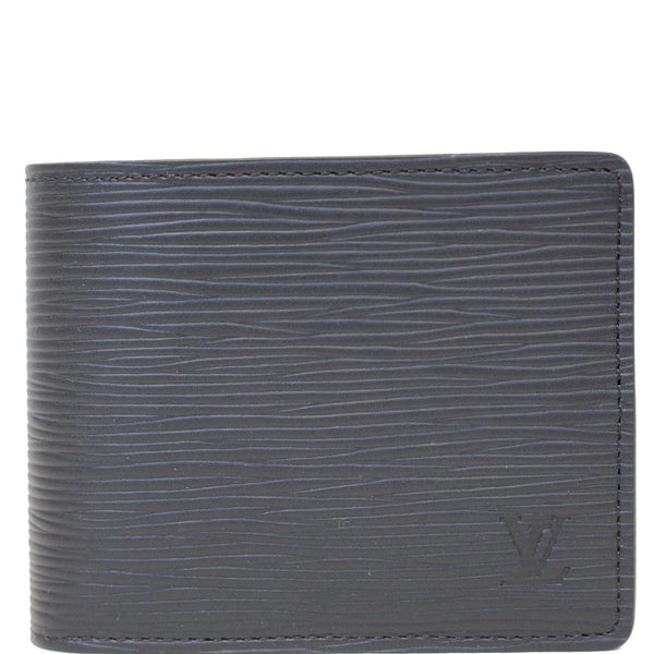 Louis Vuitton Slender - Lv Epi Leather Wallet Black for men