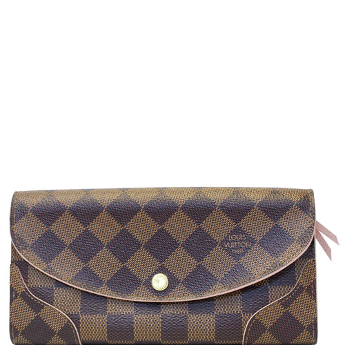 4c78e2653b24 LOUIS VUITTON Caissa Damier Ebene Wallet Rose Ballerine. Add to wishlist