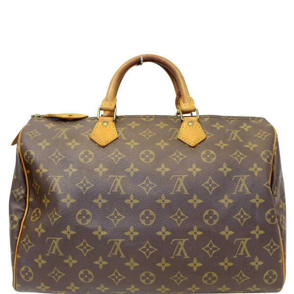 Louis Vuitton Speedy 35 - Lv Monogram - Lv Satchel Bag
