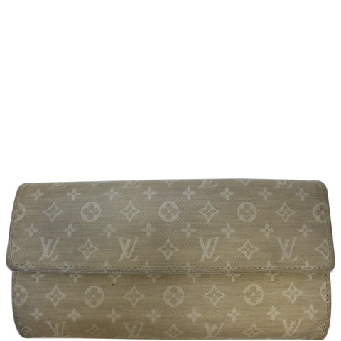 Louis Vuitton Monogram Mini Lin Sarah Wallet