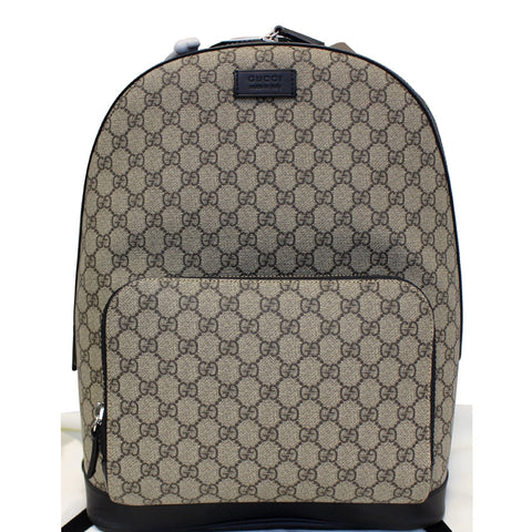 GUCCI GG Monogram Supreme Backpack Bag 406370