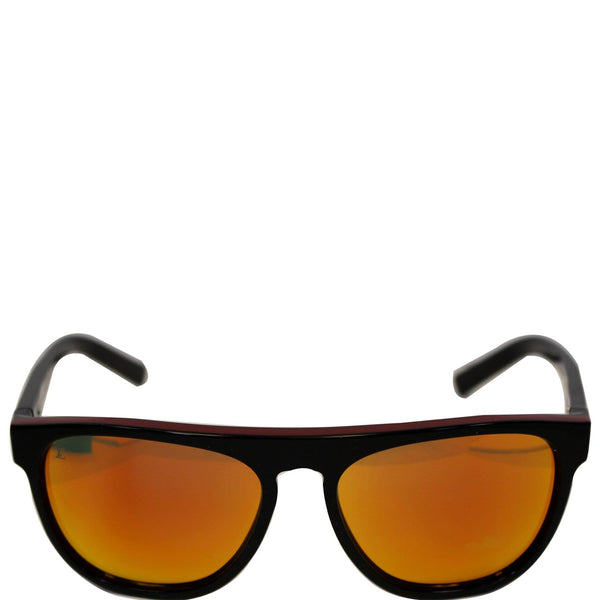 Louis Vuitton Oliver Sunglasses For Women Black/Red