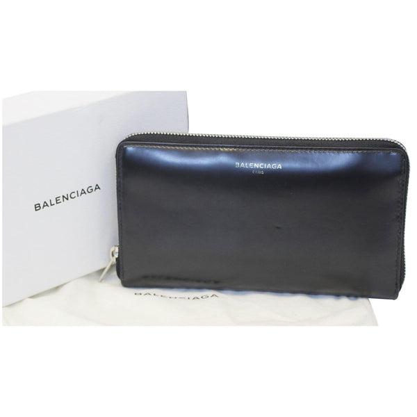 Balenciaga Wallet Continental Zip Around Leather - front view