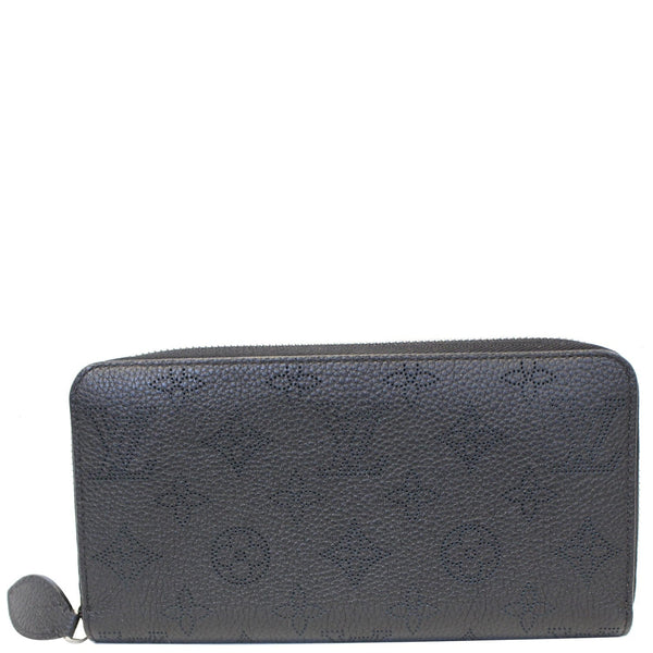 LOUIS VUITTON Mahina Noir Zippy Wallet Noir Black-US
