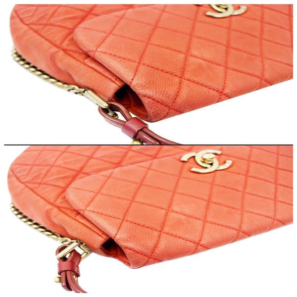 Chanel Flap Red Soft Caviar Shoulder Crossbody Bag for sale