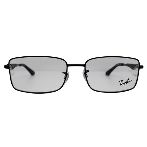 Ray-Ban RX6284-2503 55mm Matte Black Frame Eyeglasses Demo Lens