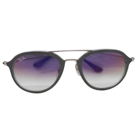 Ray-Ban RB4253 6337S5 50 Transparent Grey Sunglasses Violet Gradient Lens