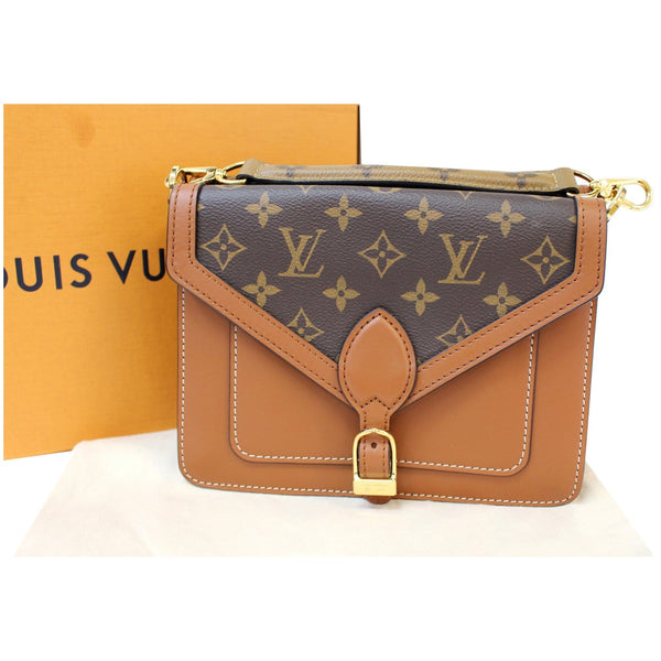 Louis Vuitton Biface Monogram Canvas Bag brown