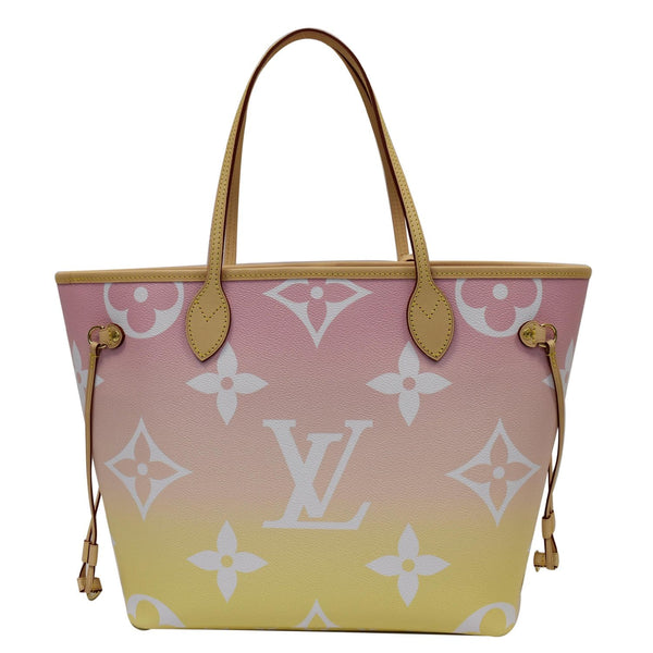 Louis Vuitton Neverfull MM Pool Giant Tote Bag with LV logo