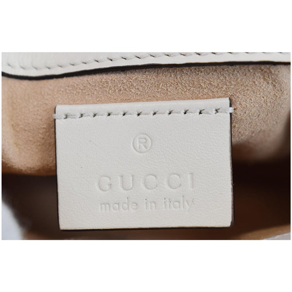 Gucci GG Marmont Super Mini Matelasse Leather Bag - made in Itlay