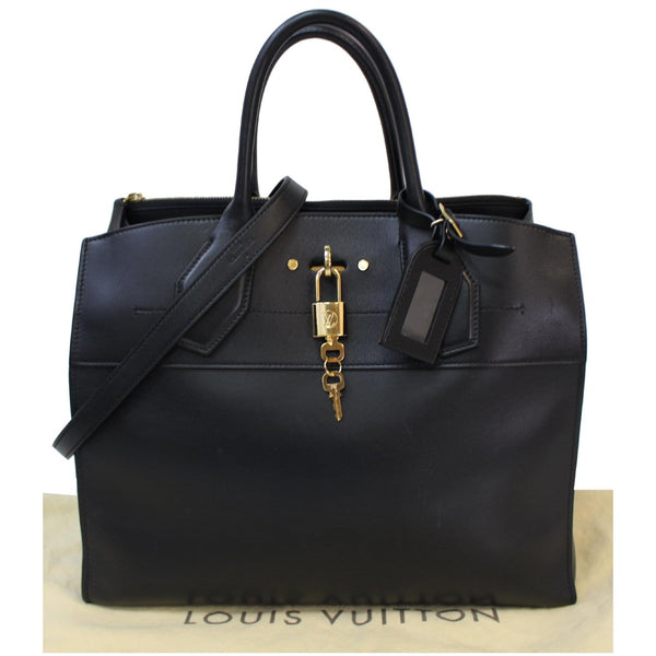 Louis Vuitton City Steamer GM Padlock Keys Bag