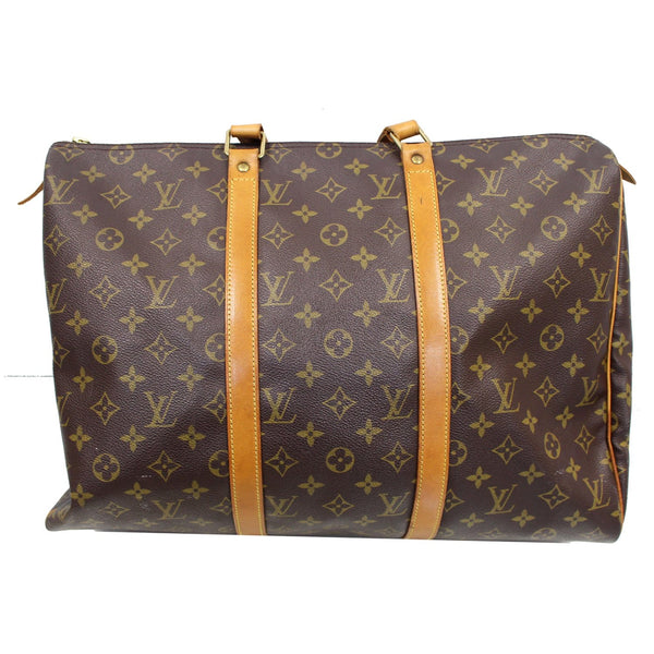 frontside lv Sac Flanerie 45 Monogram Canvas Handbag