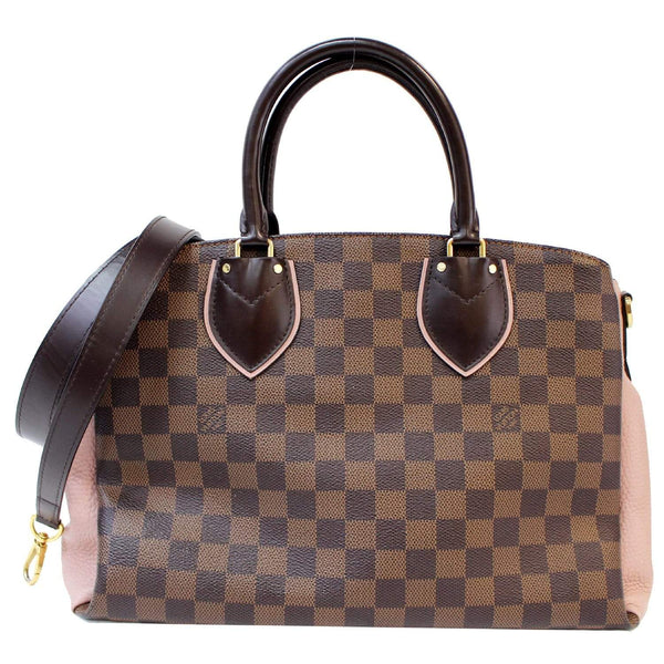 Louis Vuitton Normandy Damier Ebene Leather Handbag