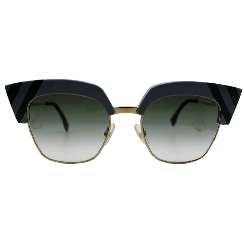 Fendi Wave Sunglasses FF 0241/S MVU 50 Grey Gradient Lens