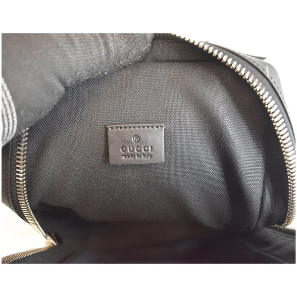 Gucci Bumbag GG Belt Bag Black/Grey made in Italy
