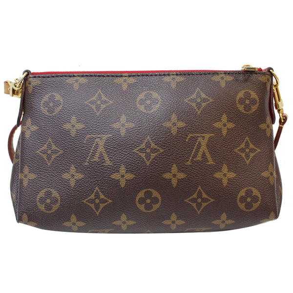 Front Look LV Pallas Monogram Canvas Crossbody Bag