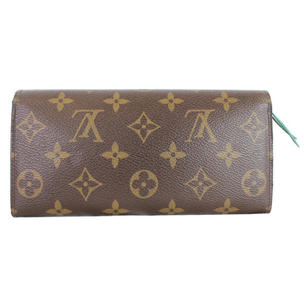 Louis Vuitton Emilie Monogram Canvas Wallet Brown color