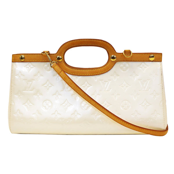 Louis Vuitton Leather Roxbury Drive Vernis Shoulder Bag - front view