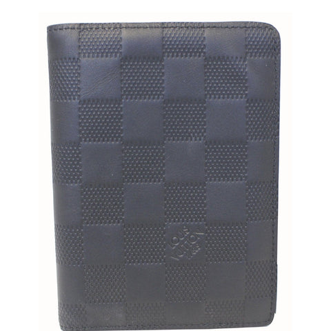 LOUIS VUITTON Pocket Organizer Damier Infini Black