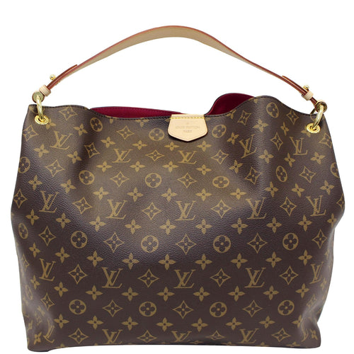 6c73f0752d5c LOUIS VUITTON Graceful MM Monogram Canvas Shoulder Bag