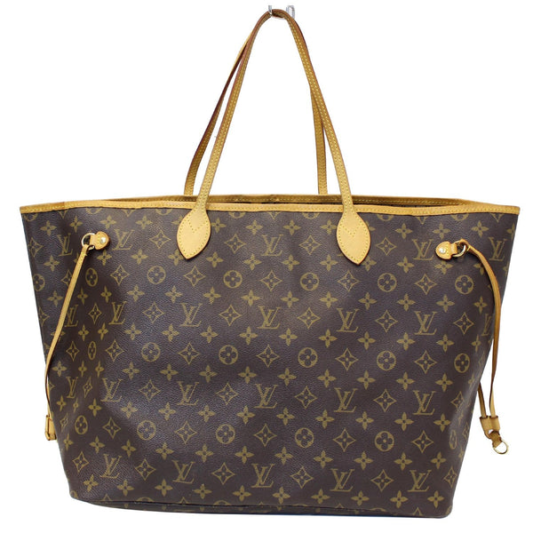 Louis Vuitton Neverfull GM Monogram Tote Bag brown
