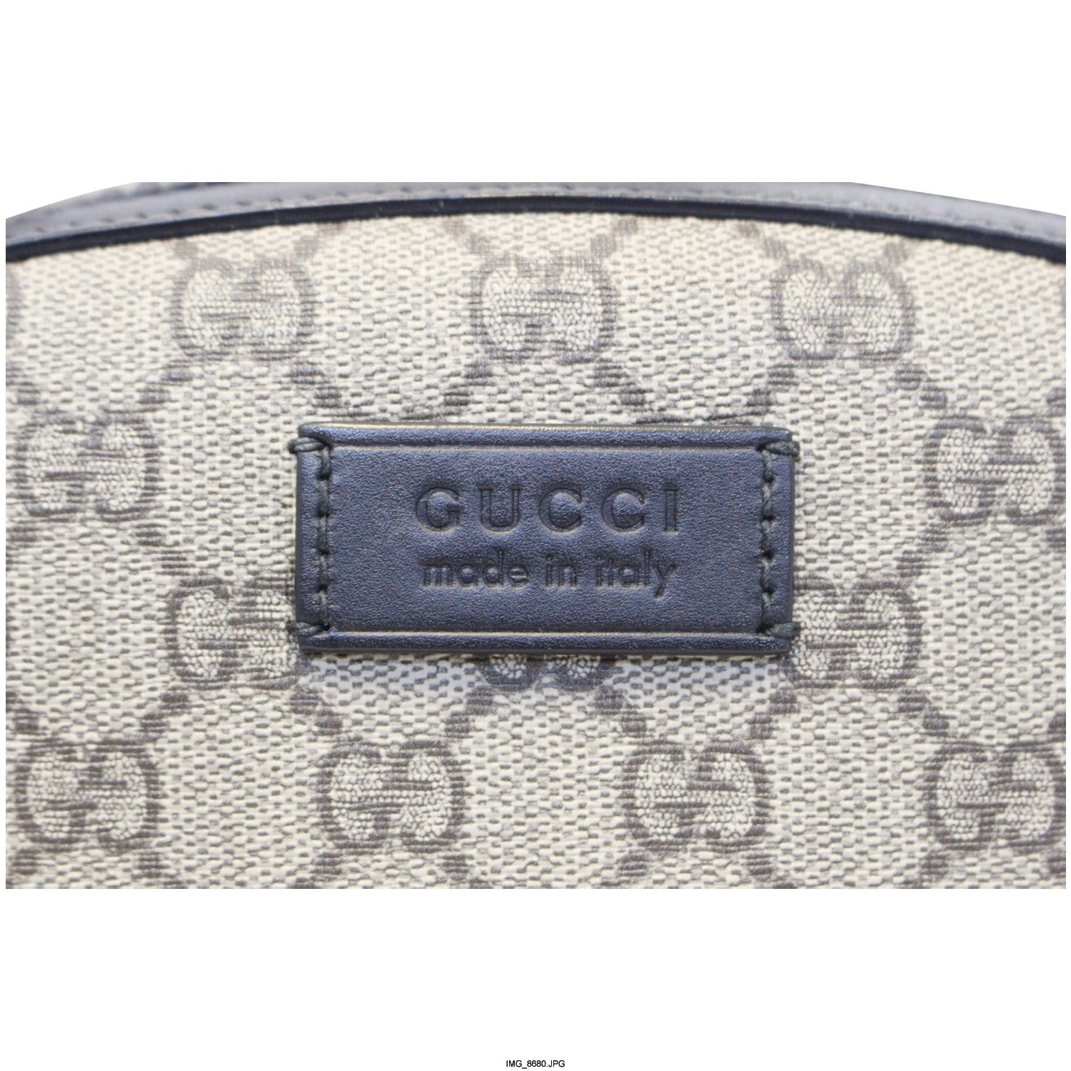 b0365aa74c10 GUCCI GG Monogram Supreme Backpack Bag 406370-US