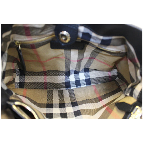 Burberry House Check Tote Bag - interior