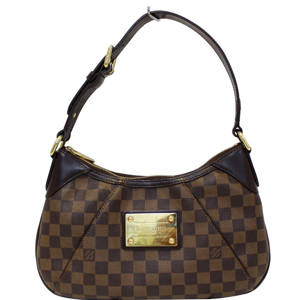 Louis Vuitton Thames PM Damier Ebne Shoulder Bag Brown