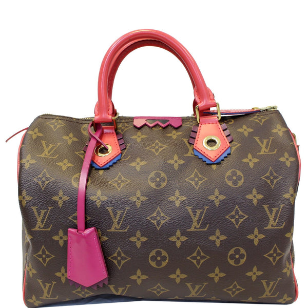 Louis Vuitton Totem Speedy 30 Monogram Canvas Satchel
