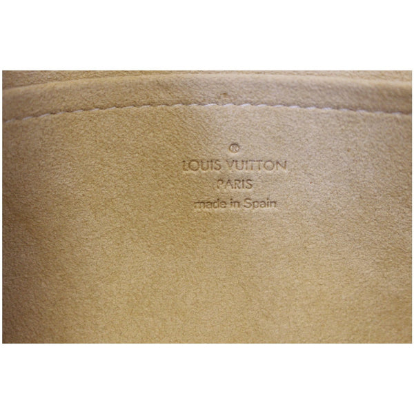 Louis Vuitton Pochette Twin Monogram Canvas Shoulder Bag - lv logo