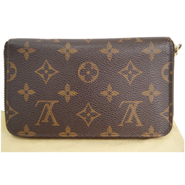 Louis Vuitton Monogram Zippy Canvas Organizer Wallet back view
