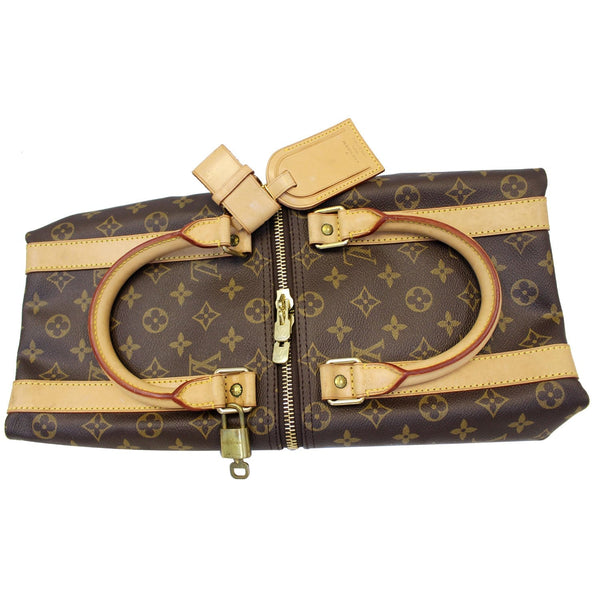 Louis Vuitton Keepall 45 Monogram Duffle - Lv Travel Bag - leather
