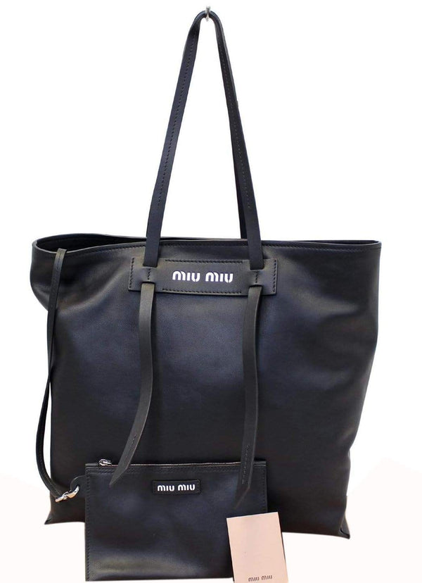 Miu Miu Patch Medium Grace Lux Tote Shoulder Bag
