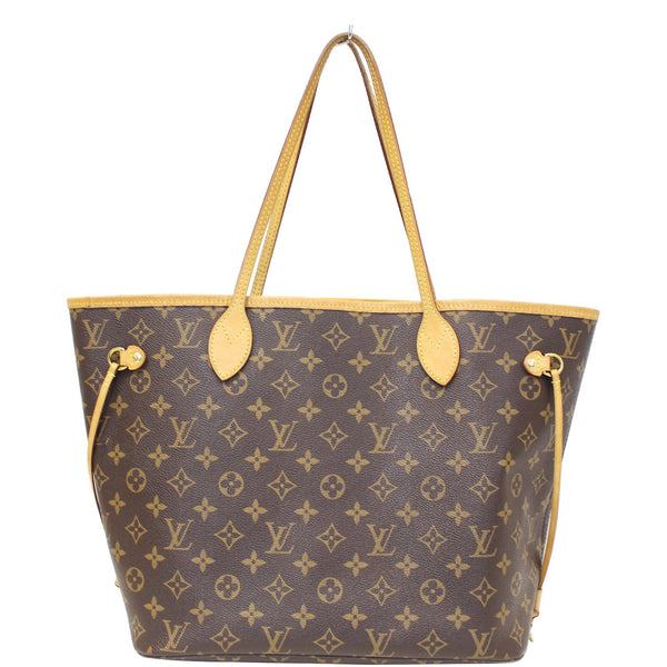 Louis Vuitton Neverfull MM - Lv Monogram Canvas Tote Bag - lv strap