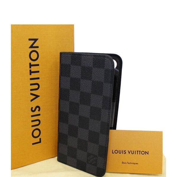 Louis Vuitton Folio Case For iPhone 7 Plus Damier - check leather