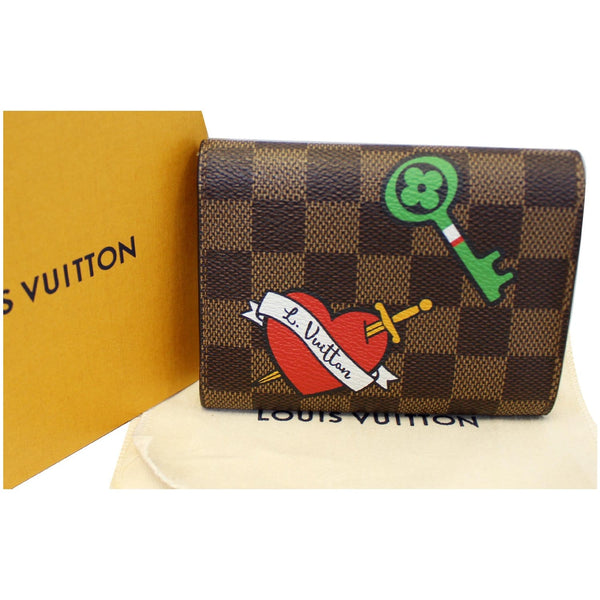 Louis Vuitton Victorine Wallet Damier Ebene for women