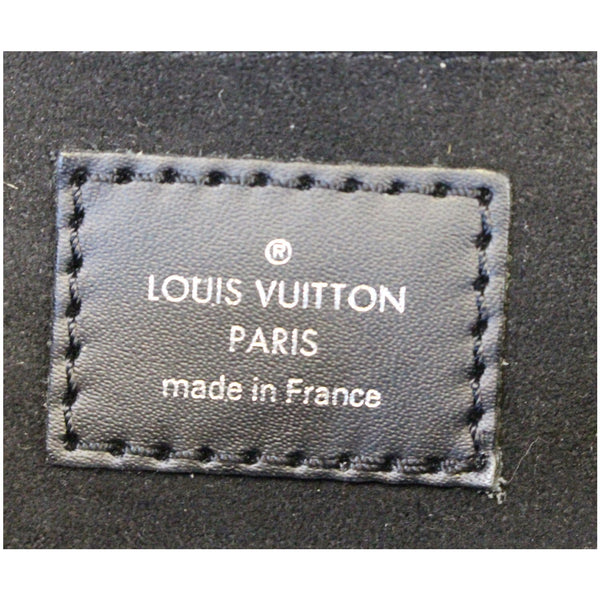 Louis Vuitton Montaigne Epi Leather Clutch Bag - lv logo