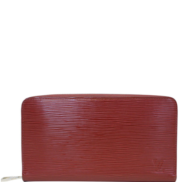 Louis Vuitton Zippy Wallet Organizer Epi Leather Red