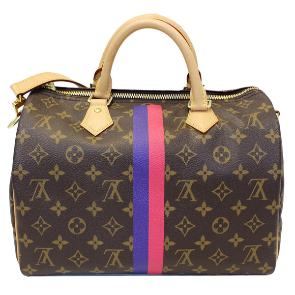 LV Speedy 30 Mon Bandouliere Monogram Canvas Bag - Full view