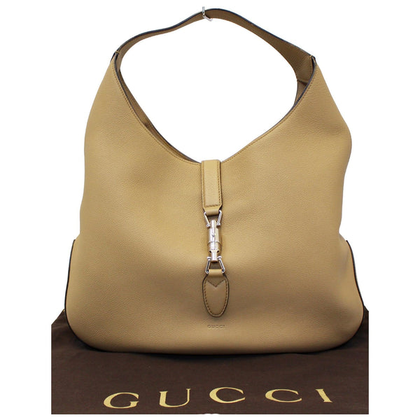 Gucci Jackie Soft Leather Hobo Bag - Gucci Shoulder bag - full view