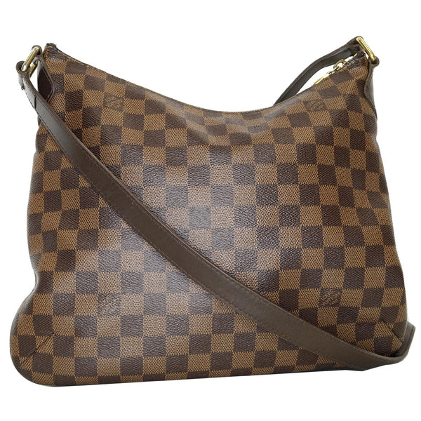 Louis Vuitton Bloomsbury PM Damier Ebene Crossbody Bag front view