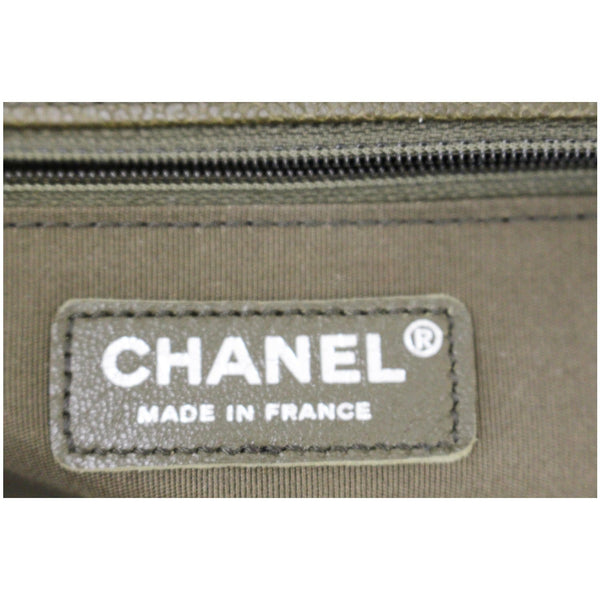 Chanel Boy Medium Flap Caviar Leather Shoulder Bag - chanel le boy