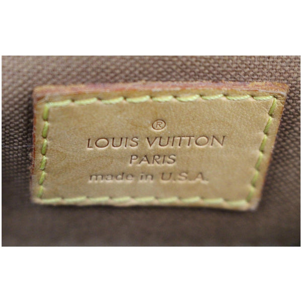 Louis Vuitton Tivoli GM Monogram Canvas Bag Logo