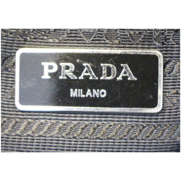 PRADA Large Nylon Crossbody Bag Black-US