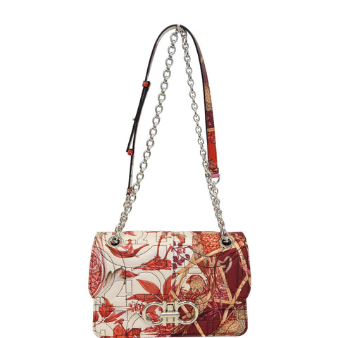 SALVATORE FERRAGAMO Quilted Multi-print Crossbody Bag Multicolor - 15% OFF